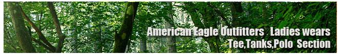 アメリカンイーグル/Amrican Eagle/レディース/Tシャツ、ポロシャツコーナー
