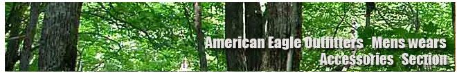 アメリカンイーグル/Amrican Eagle/メンズ/アクセサリーコーナー