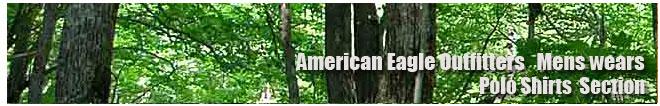 アメリカンイーグル/Amrican Eagle/メンズ/ポロシャツコーナー