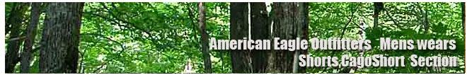 アメリカンイーグル/Amrican Eagle/メンズ/カーゴショーツ、ハーフパンツコーナー