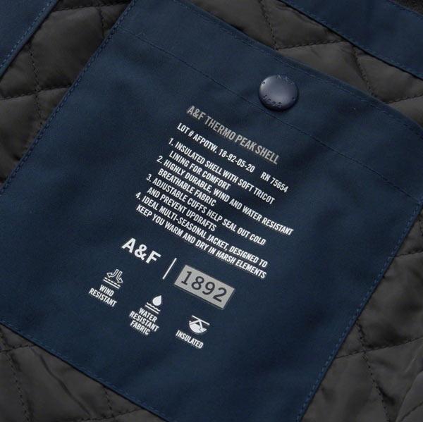アバクロ新作ナイロンジャケット/Jacket