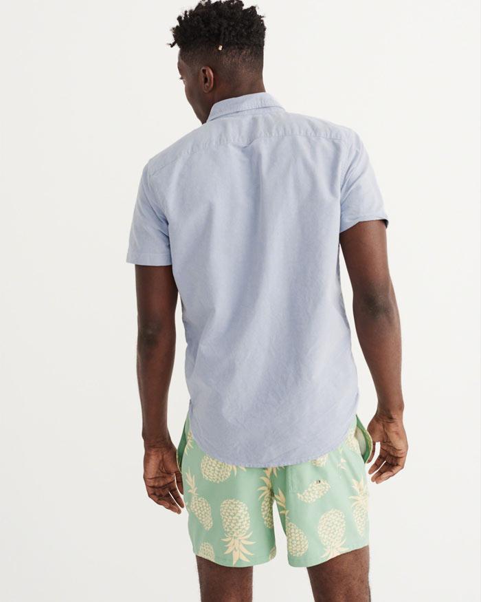 アバクロ半袖シャツ