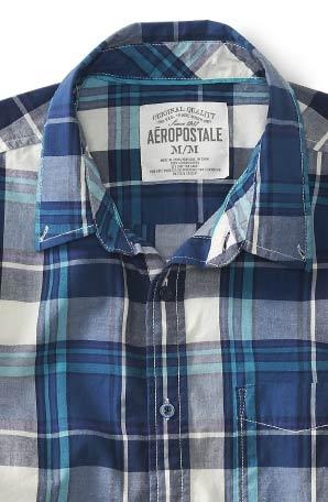 エアロポステール新作半袖シャツ