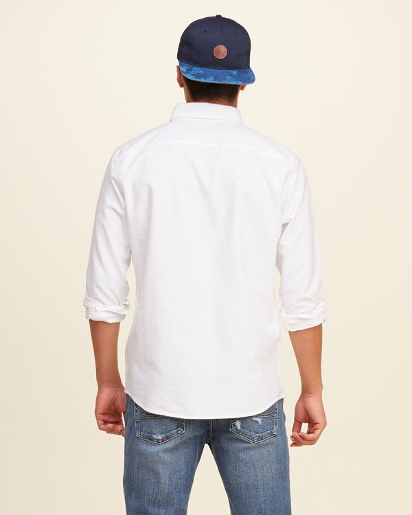 ホリスター新作オックスフォードシャツ/ボタンダウンシャツ