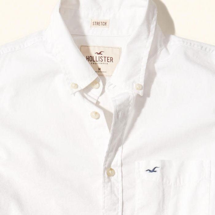 ホリスター新作ボタンダウンシャツ