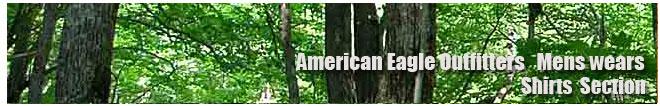 アメリカンイーグル/Amrican Eagle/メンズ/シャツコーナー