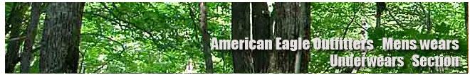 アメリカンイーグル/Amrican Eagle/メンズ/アンダーウェアコーナー